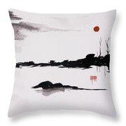 Twilight Journey - II Throw Pillow