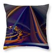 Twilight Journey Throw Pillow