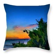 Twilight Mangrove Throw Pillow