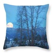 Twilight Moon Throw Pillow