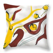 Twilight Of One's Life Throw Pillow