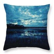 Twilight On The Lake Throw Pillow