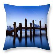 Twilight Piers Throw Pillow