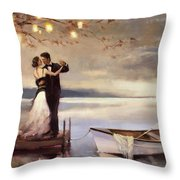 Twilight Romance Throw Pillow