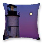 Twilight Sandy Neck Throw Pillow