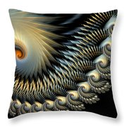 Twilight Wings Throw Pillow