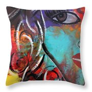 Twin 1 Throw Pillow
