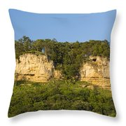 Twin Bluffs 2 A Throw Pillow