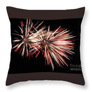Twin Burst Throw Pillow