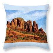 Twin Buttes Sedona Az Hbn2 Throw Pillow