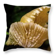 Twin Cantharellus Throw Pillow