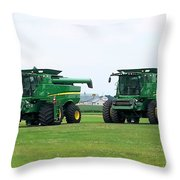 Twin Combines Throw Pillow