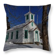 Twin Lakes School District No. 009 Established 1895 Throw Pillow