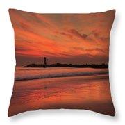 Twin Lakes Sundown Throw Pillow