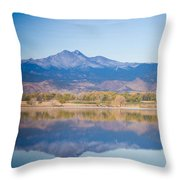 Twin Peaks Reflection Throw Pillow