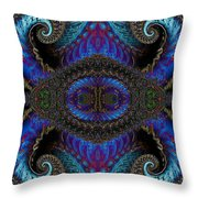 Twin Quad Throw Pillow