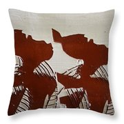 Twins - Tile Throw Pillow