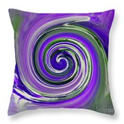 Twirl 02c Throw Pillow