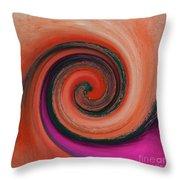 Twirl 07 Throw Pillow