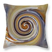 Twirl Art 0032 Throw Pillow