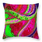 Twist And Shout 4 Throw Pillow