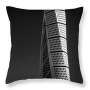 Twisted #3 Throw Pillow