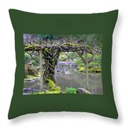 Twisted Arbor Throw Pillow