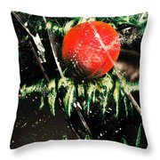 Twisted Evil Clown Portrait Throw Pillow