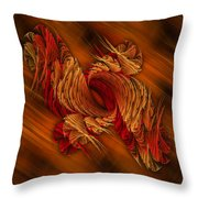 Twisted Throw Pillow