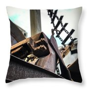 Twisted Fate Throw Pillow