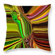 Twisted Glass Throw Pillow
