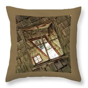Twisted House Throw Pillow
