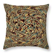 Twisted Magic Throw Pillow