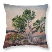 Twisted Temptest Throw Pillow