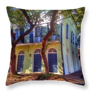 Twisted Tree In Farbourg Throw Pillow