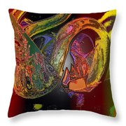 Twisted Wrapped Throw Pillow