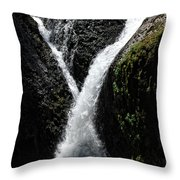 Twister Falls Throw Pillow