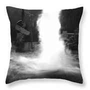 Twister In The Neighborhood Throw Pillow