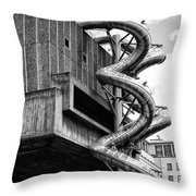 Twister Throw Pillow