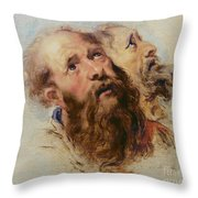 Two Apostles Throw Pillow by Rubens