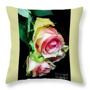 Two For Love Throw Pillow