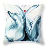 Two Graces Throw Pillow
