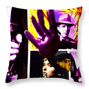 Two Guys Two Guns And A Dame Throw Pillow