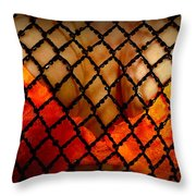 Two Handfuls Of Oranges Throw Pillow