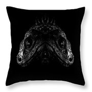 Two Headed Ziggy Throw Pillow