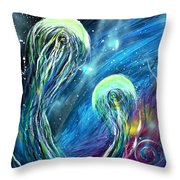 Two Into Throw Pillow