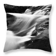 Two Island River Cascade Throw Pillow