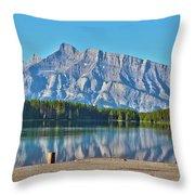 Two Jack Lake Throw Pillow