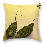Two Little Mice Throw Pillow