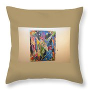 Two Lovers Throw Pillow